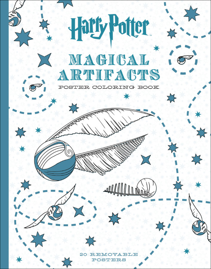 Scholastic - Harry Potter Magical Artifacts Poster Coloring Book
