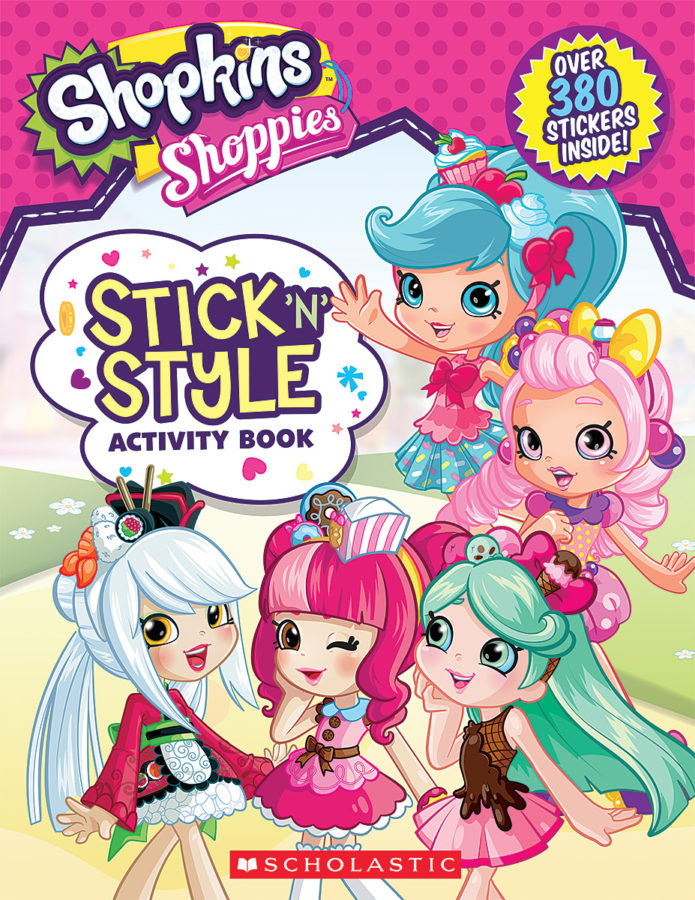 Leigh Stephens - Stick 'n' Style Activity Book