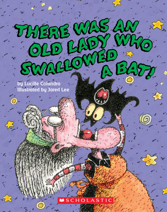 Lucille Colandro - There Was an Old Lady Who Swallowed a Bat!