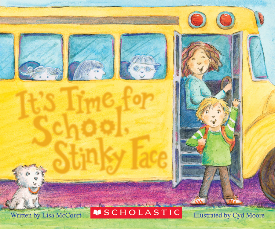 Lisa McCourt - It's Time for School, Stinky Face