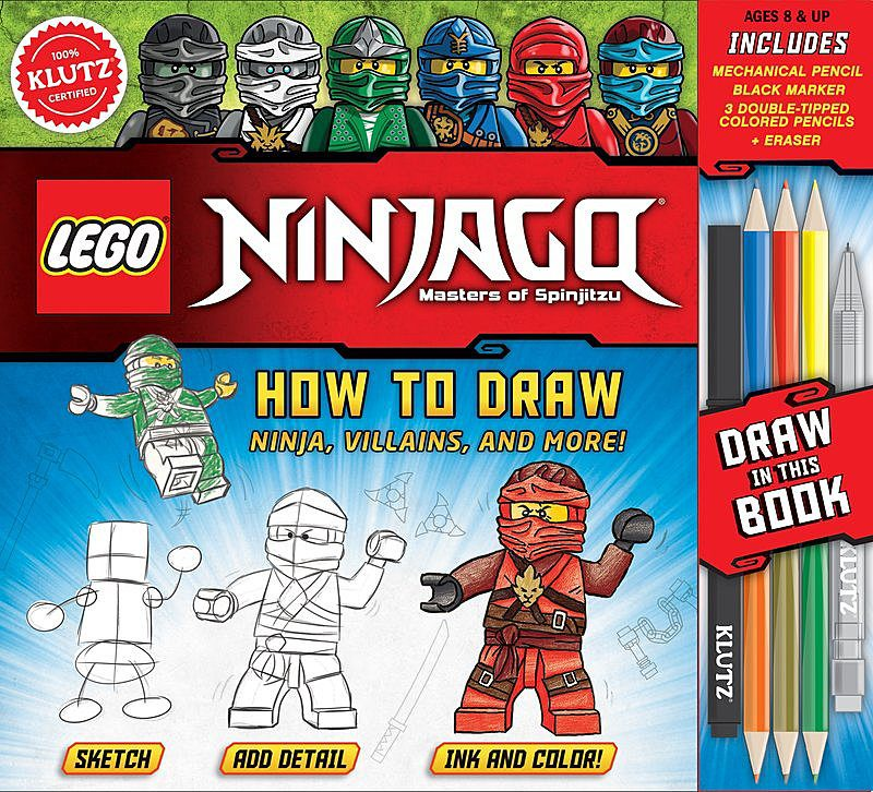 Editors of Klutz - How to Draw Ninja, Villains, and More!