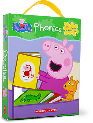 Peppa Pig Phonics Box Set By Boxed Set The Parent Store