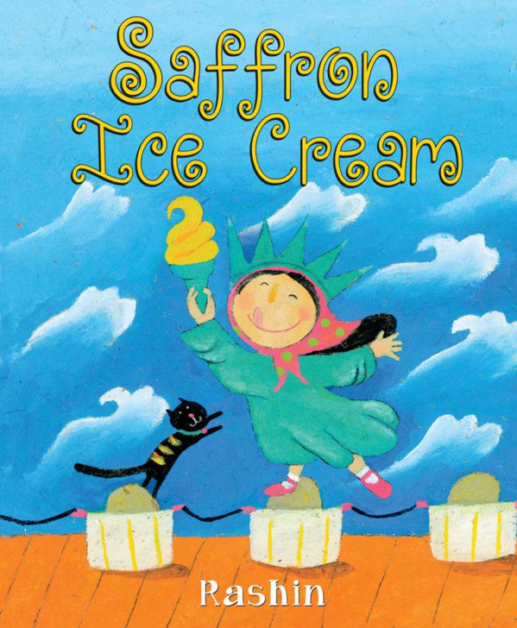 Rashin Kheiriyeh - Saffron Ice Cream
