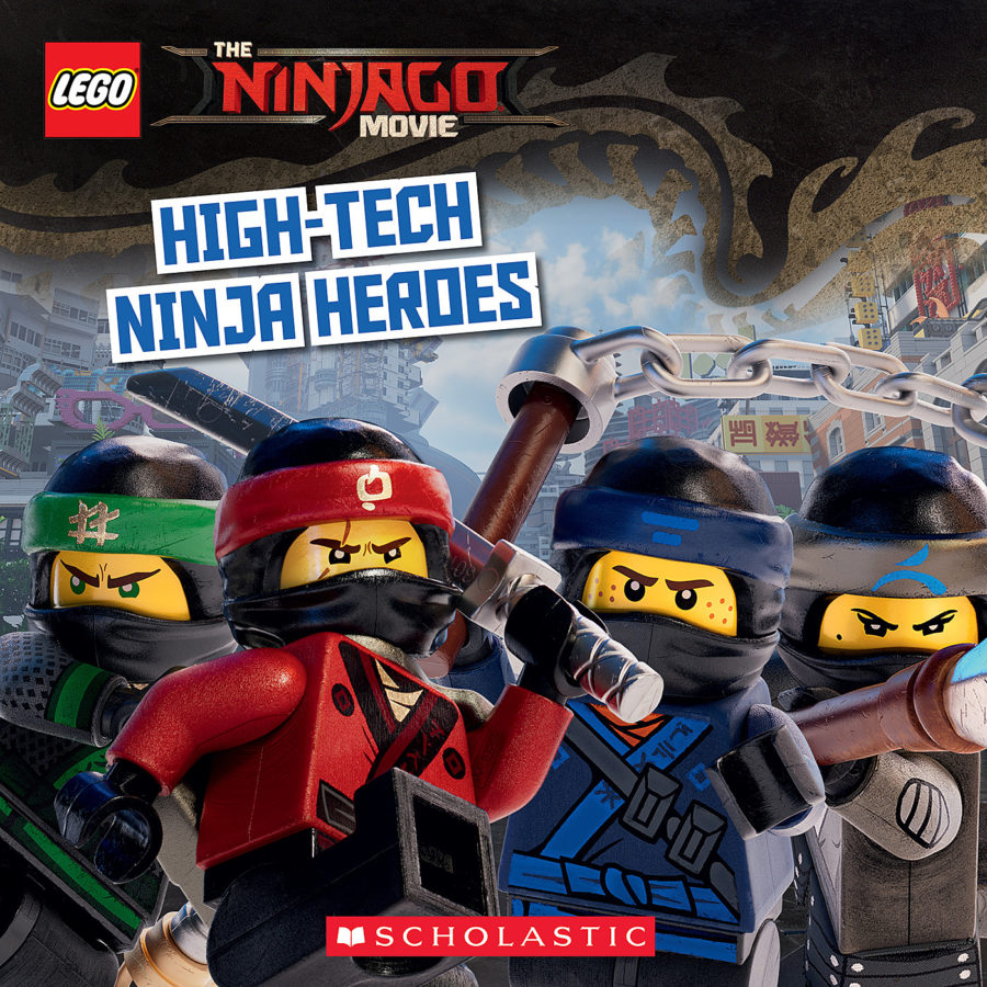 Michael Petranek - High-Tech Ninja Heroes