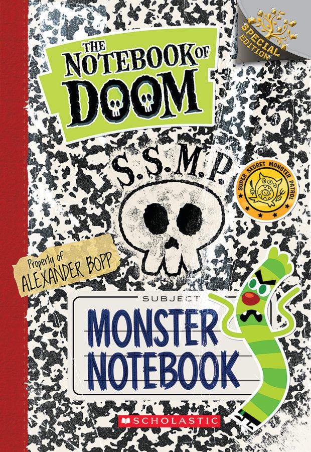 Troy Cummings - Monster Notebook