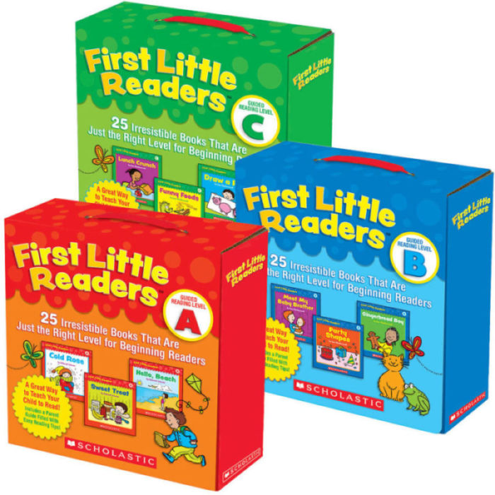 First Little Readers Guided Reading Pack (Levels A-C)
