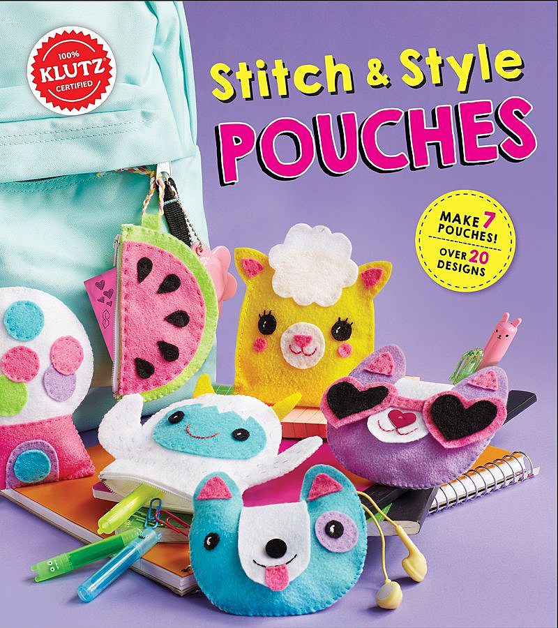 Editors of Klutz - Stitch & Style Pouches