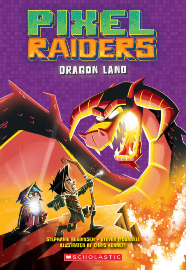 Steven O'Donnell - Pixel Raiders #2: Dragon Land
