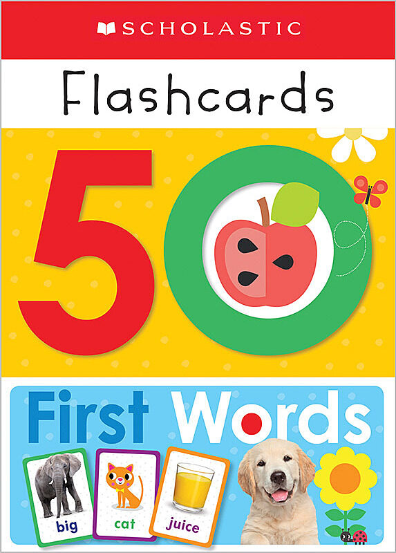 Scholastic - Flashcards: 50 First Words