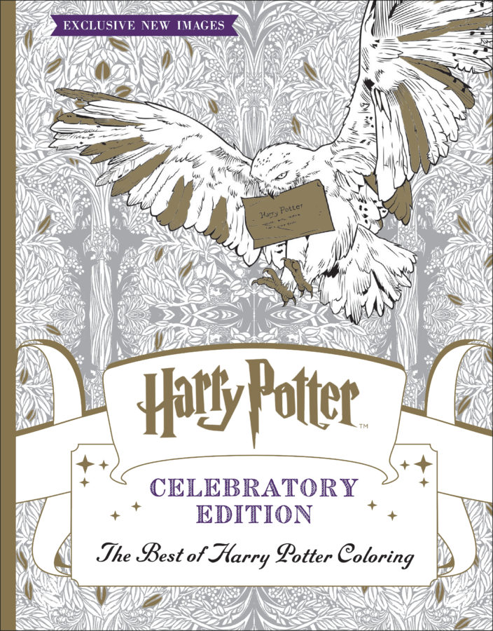 Scholastic - The Best of Harry Potter Coloring (Celebratory Edition)