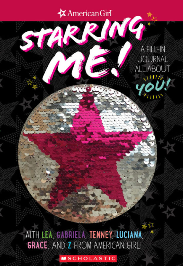 Howie Dewin - Starring Me Magic Sequin Journal