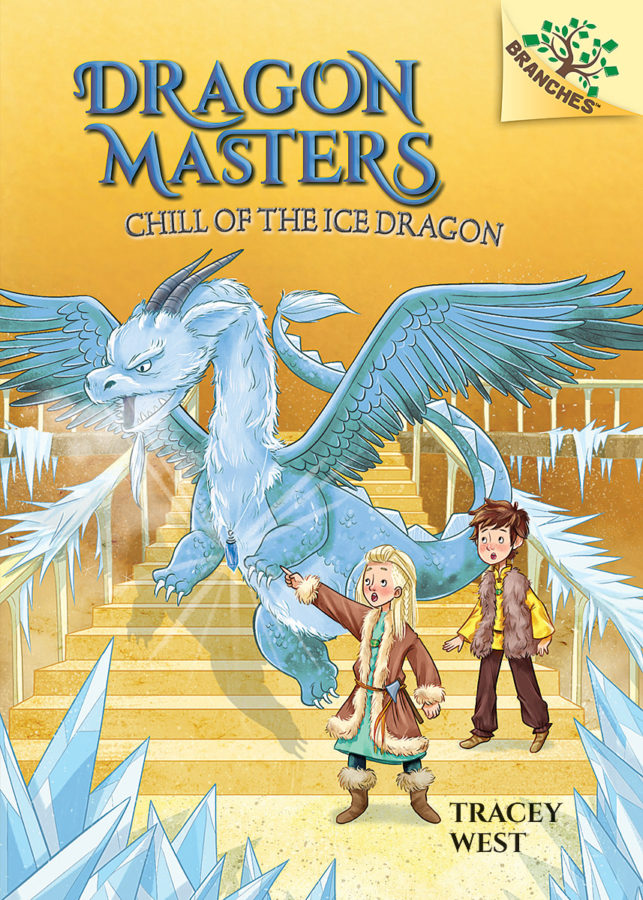 Tracey West - Chill of the Ice Dragon