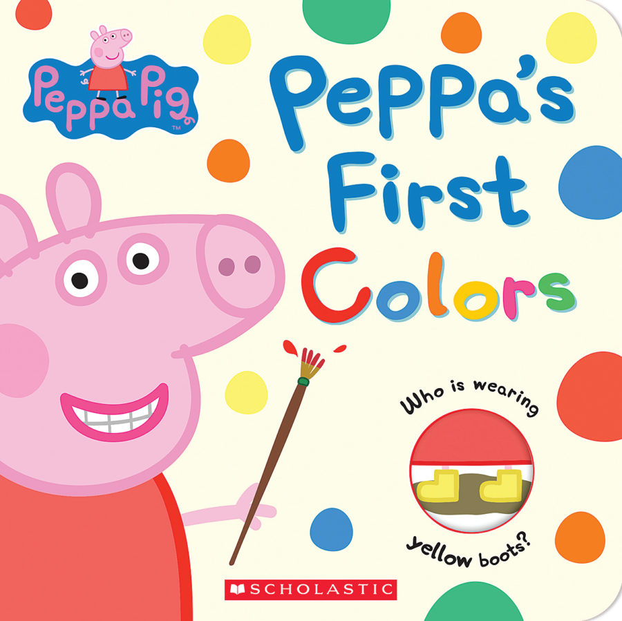 Scholastic - Peppa's First Colors