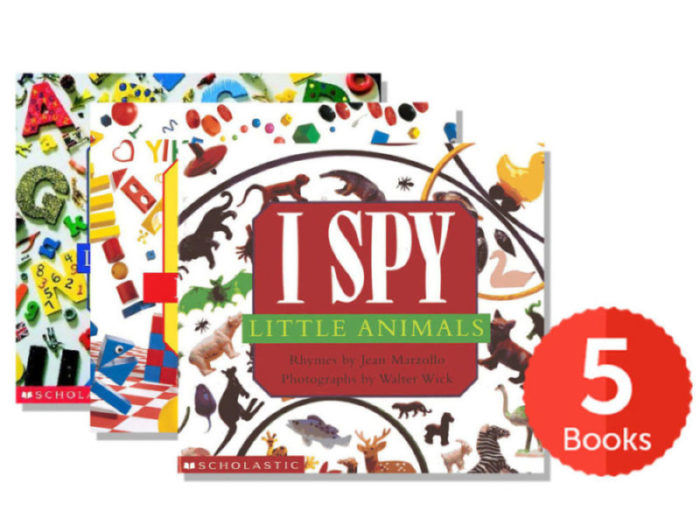 I SPY Board Book Value Pack (Pack of 5) by Jean Marzollo