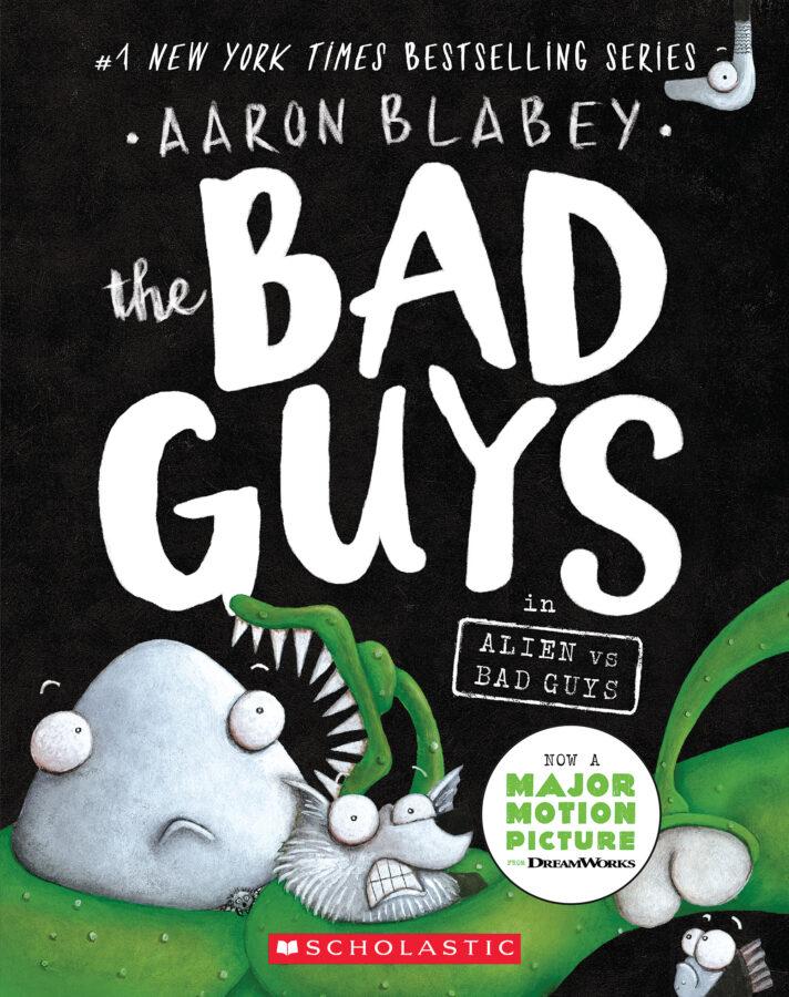 Aaron Blabey - The Bad Guys in Alien vs. Bad Guys