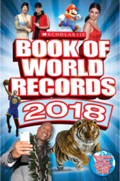 Cynthia O'Brien - Scholastic Book of World Records 2018