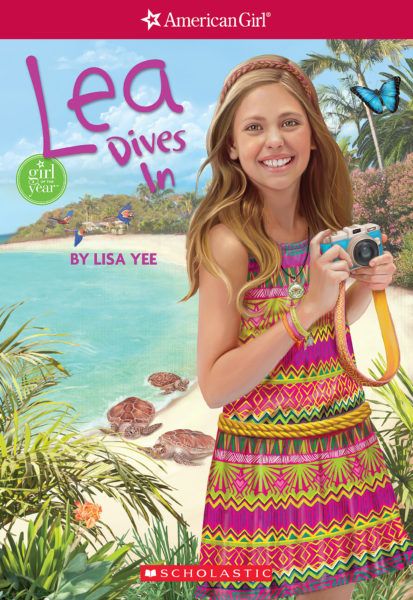Lisa Yee - Lea Dives In