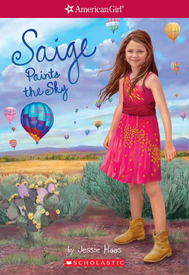 Jessie Haas - Saige Paints the Sky