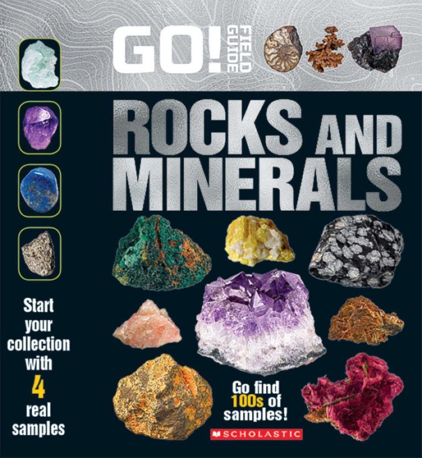 Scholastic - Go! Field Guide: Rocks and Minerals
