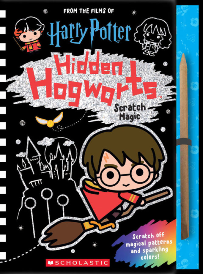 Scholastic - Hidden Hogwarts: Scratch Magic
