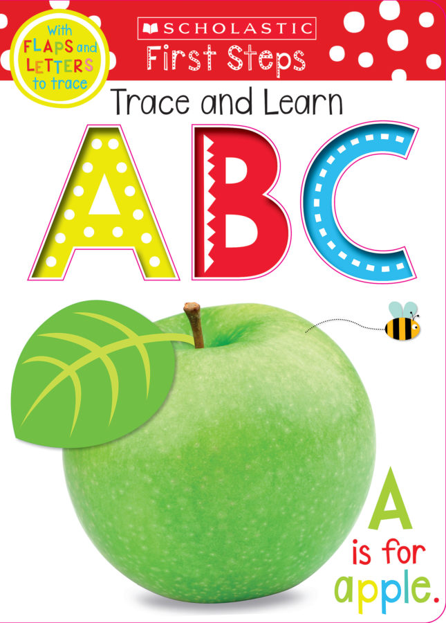 Scholastic - Trace, Lift, and Learn ABC