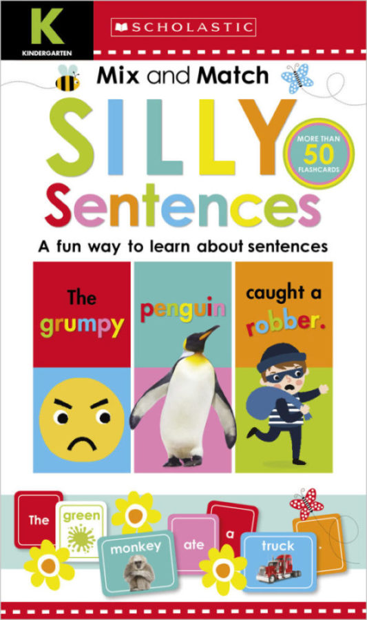 Scholastic - Kindergarten Mix and Match Silly Sentences