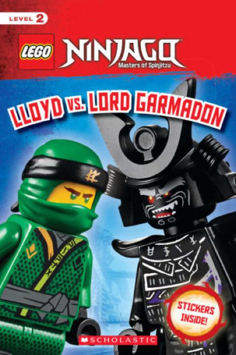 LEGO Ninjago: Reader Level 2: Lloyd vs  Lord Garmadon by Kate Howard