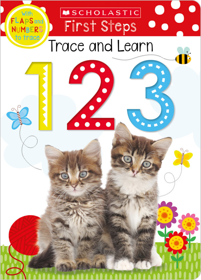 Scholastic - Trace and Learn 123