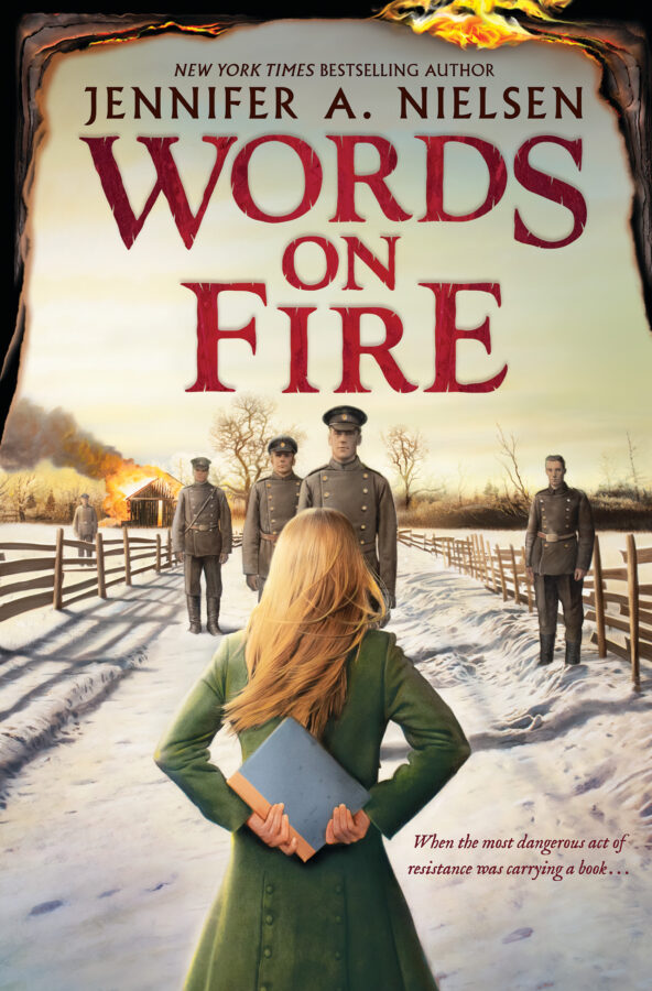 Jennifer A. Nielsen - Words on Fire