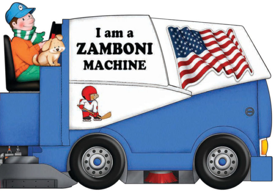 Scholastic - I Am a Zamboni Machine