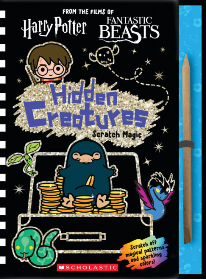Scholastic - Wizarding World: Hidden Creatures: Scratch Magic