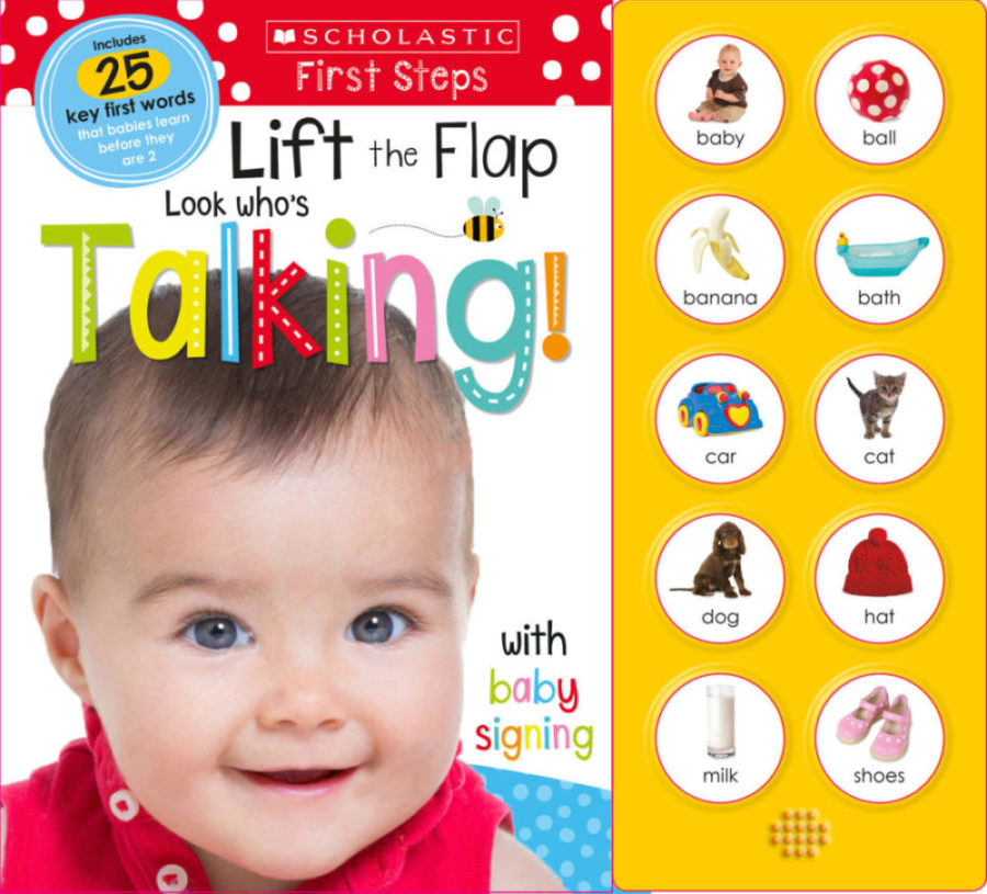 Scholastic - Lift the Flap: Look Who's Talking!