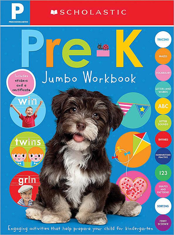 Scholastic - Jumbo Workbook: Pre-K