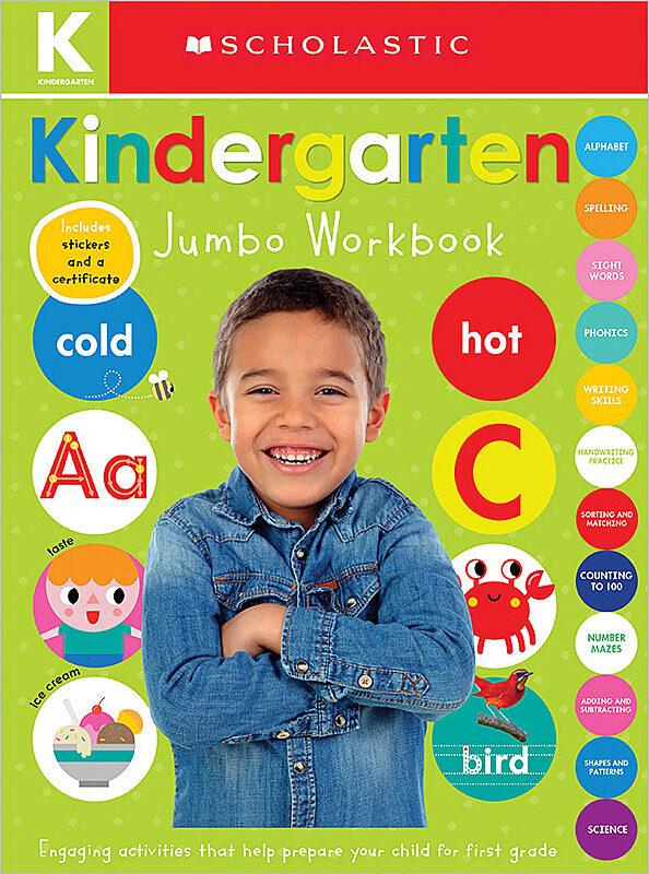 Scholastic - Jumbo Workbook - Kindergarten