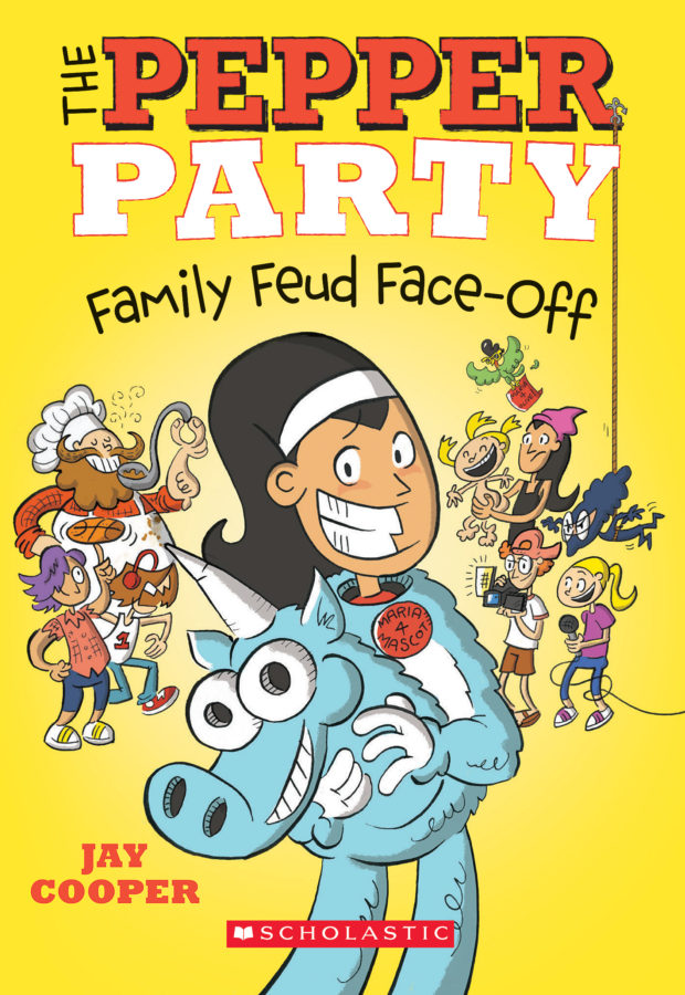 Jay Cooper - Pepper Party Family Feud Face-Off, The