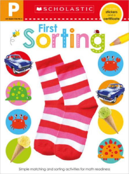 Scholastic - Get Ready for Pre-K Skills Workbook: Sorting