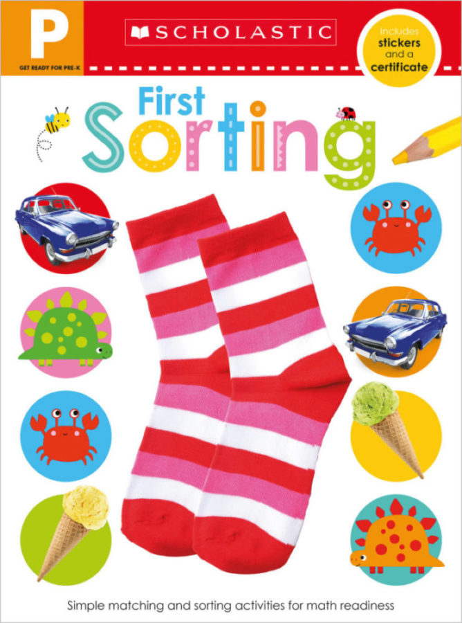 Scholastic - Get Ready for Pre-K Skills Workbook: First Sorting