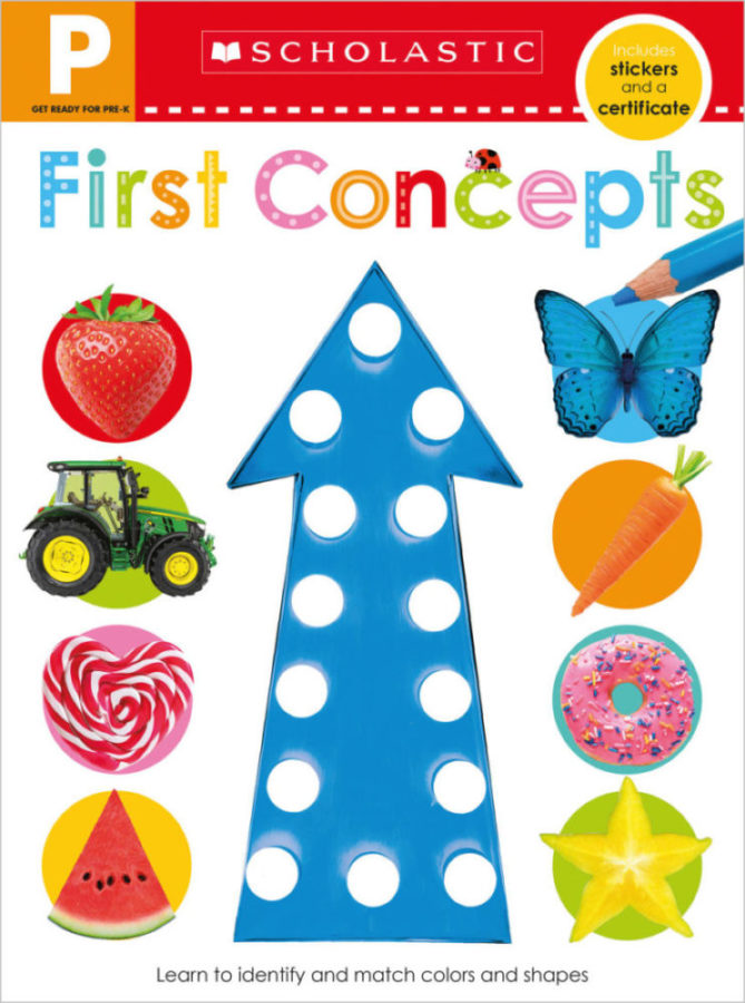 - Get Ready for Pre-K Skills Workbook: First Concepts