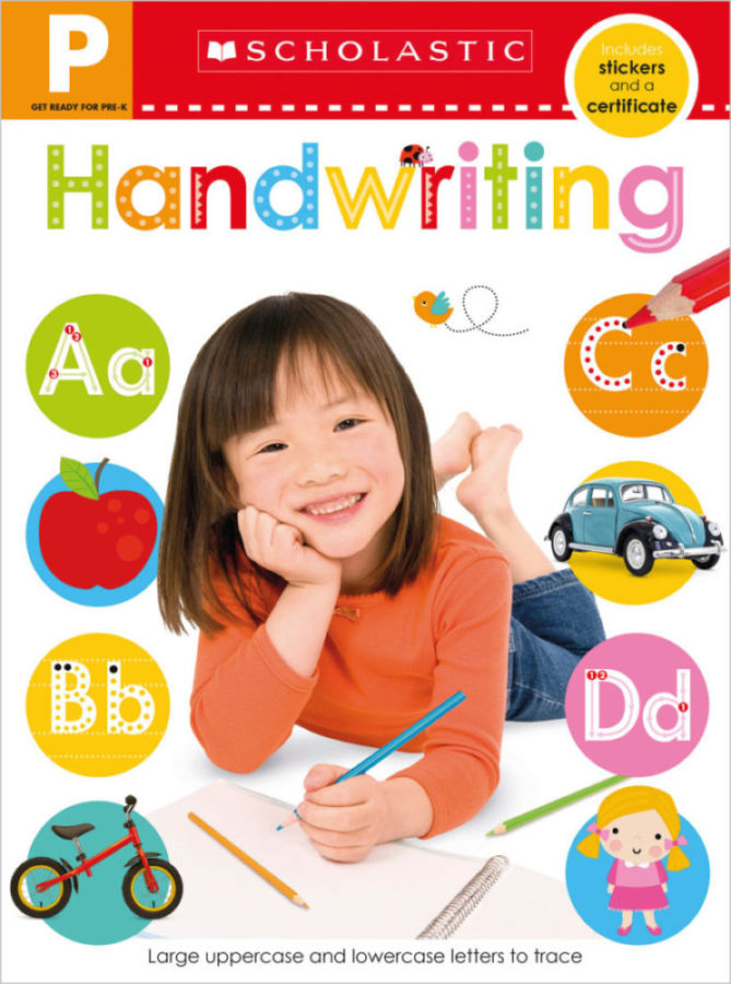 - Get Ready for Pre-K Skills Workbook: Handwriting