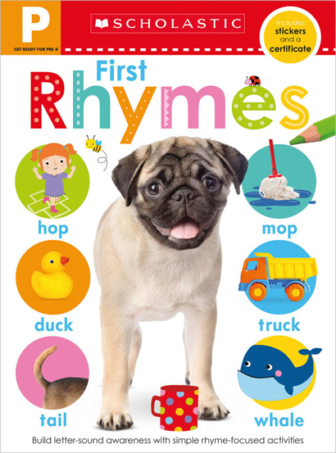 - Get Ready for Pre-K Skills Workbook: First Rhymes