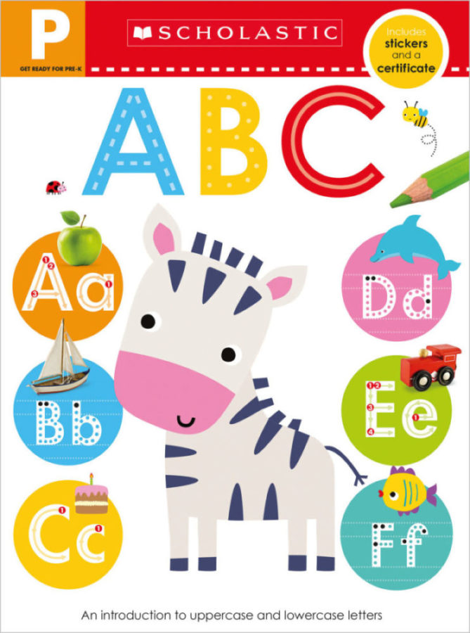 - Get Ready for Pre-K Skills Workbook: ABC