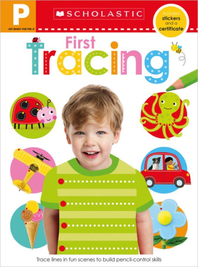 - Get Ready for Pre-K Skills Workbook: First Tracing