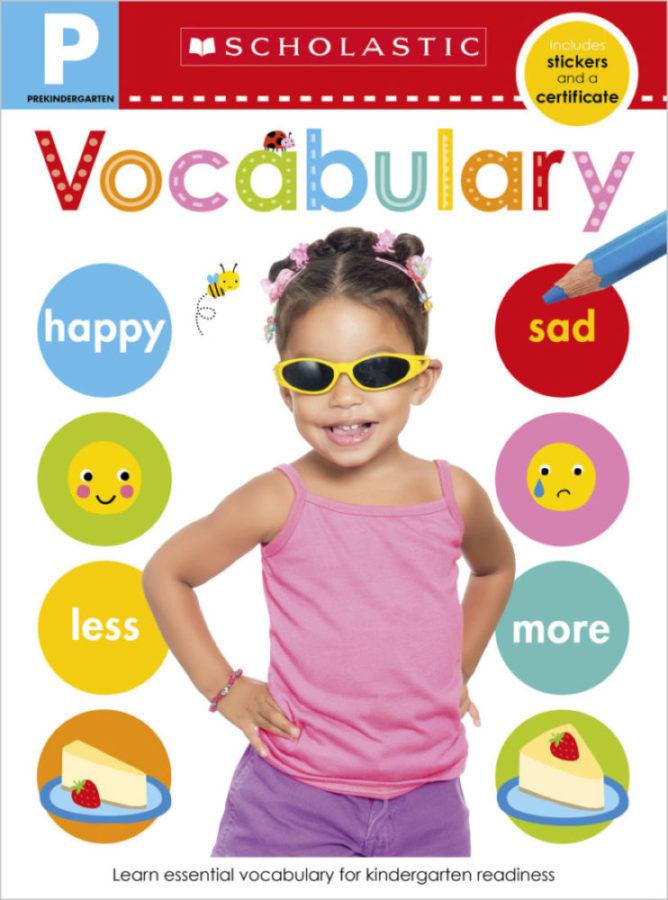 Scholastic - Pre-K Skills Workbook: Vocabulary