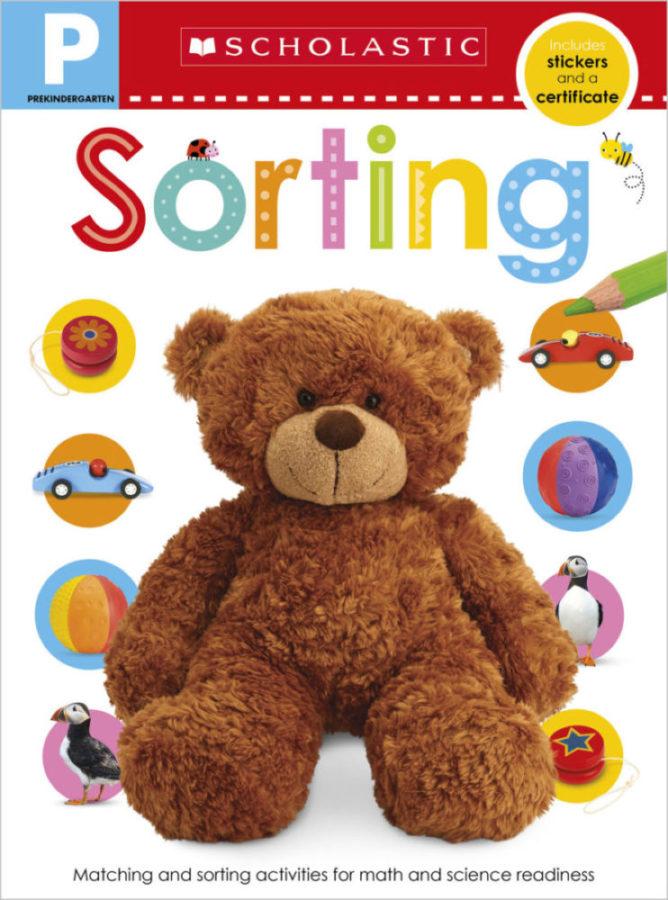 Scholastic - Pre-K Skills Workbook: Sorting