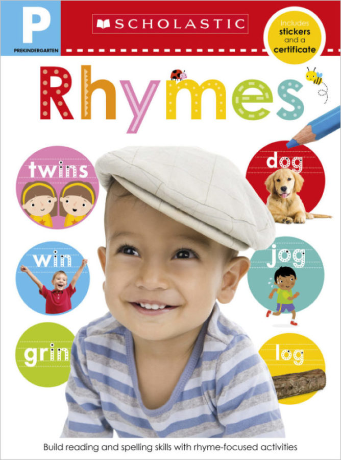 Scholastic - Pre-K Skills Workbook: Rhymes