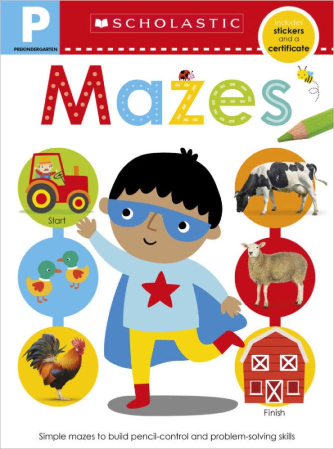 Scholastic - Pre-K Skills Workbook: Mazes
