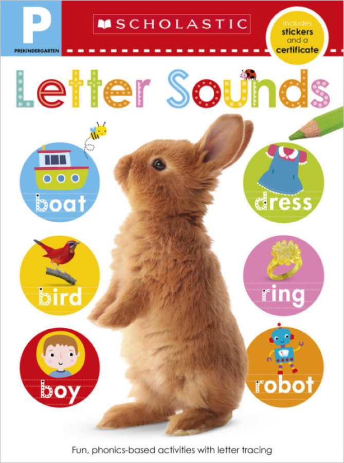 Scholastic - Pre-K Skills Workbook: Letter Sounds
