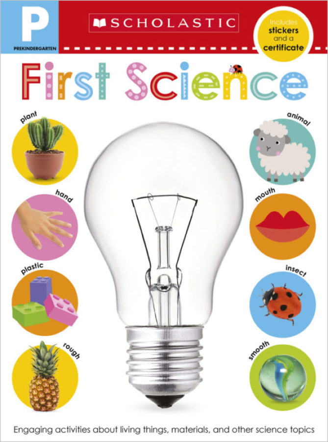 Scholastic - Pre-K Skills Workbook: First Science