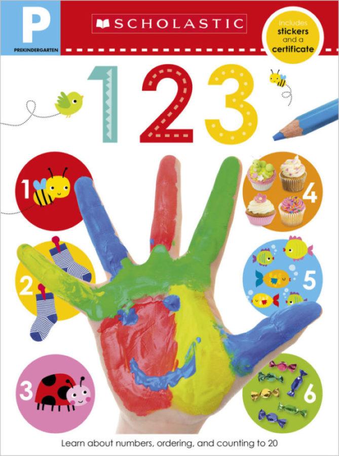 Scholastic - Pre-K Skills Workbook: 123
