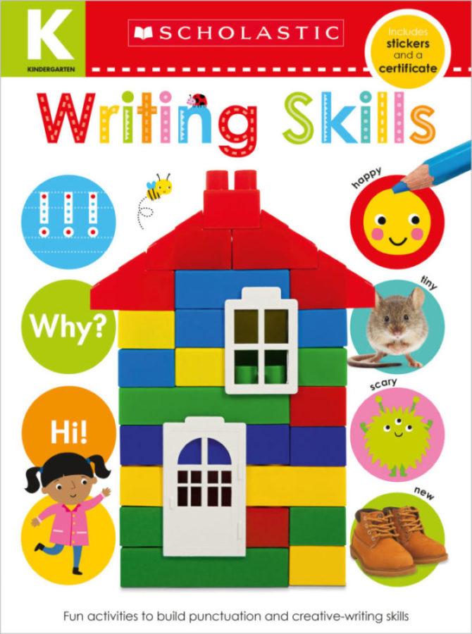 Scholastic - Kindergarten Skills Workbook: Writing Skills